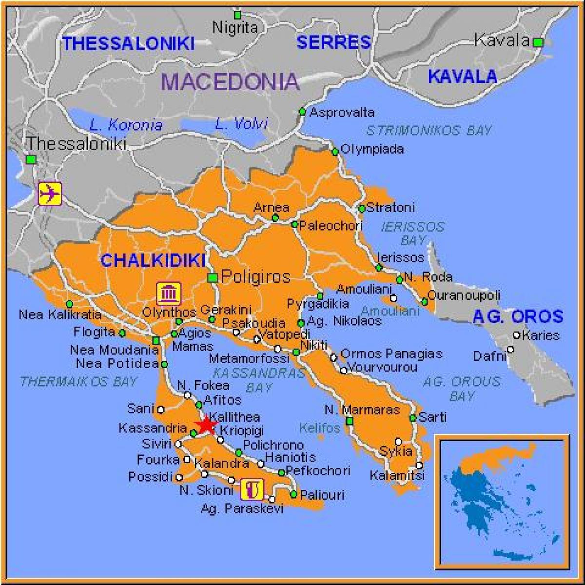 Karta Aten Grekland.Kallithea Aten Karta Karta Over Kallithea Aten Grekland