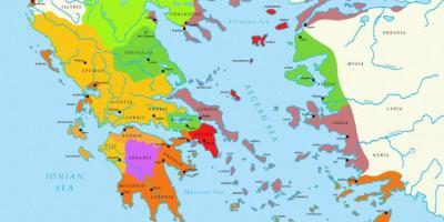 Karta Europa Grekland.Aten Karta Europa Karta Over Aten Karta Europa Grekland