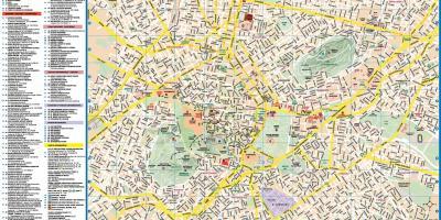 Karta Aten.Aten Karta Europa Karta Over Aten Karta Europa Grekland